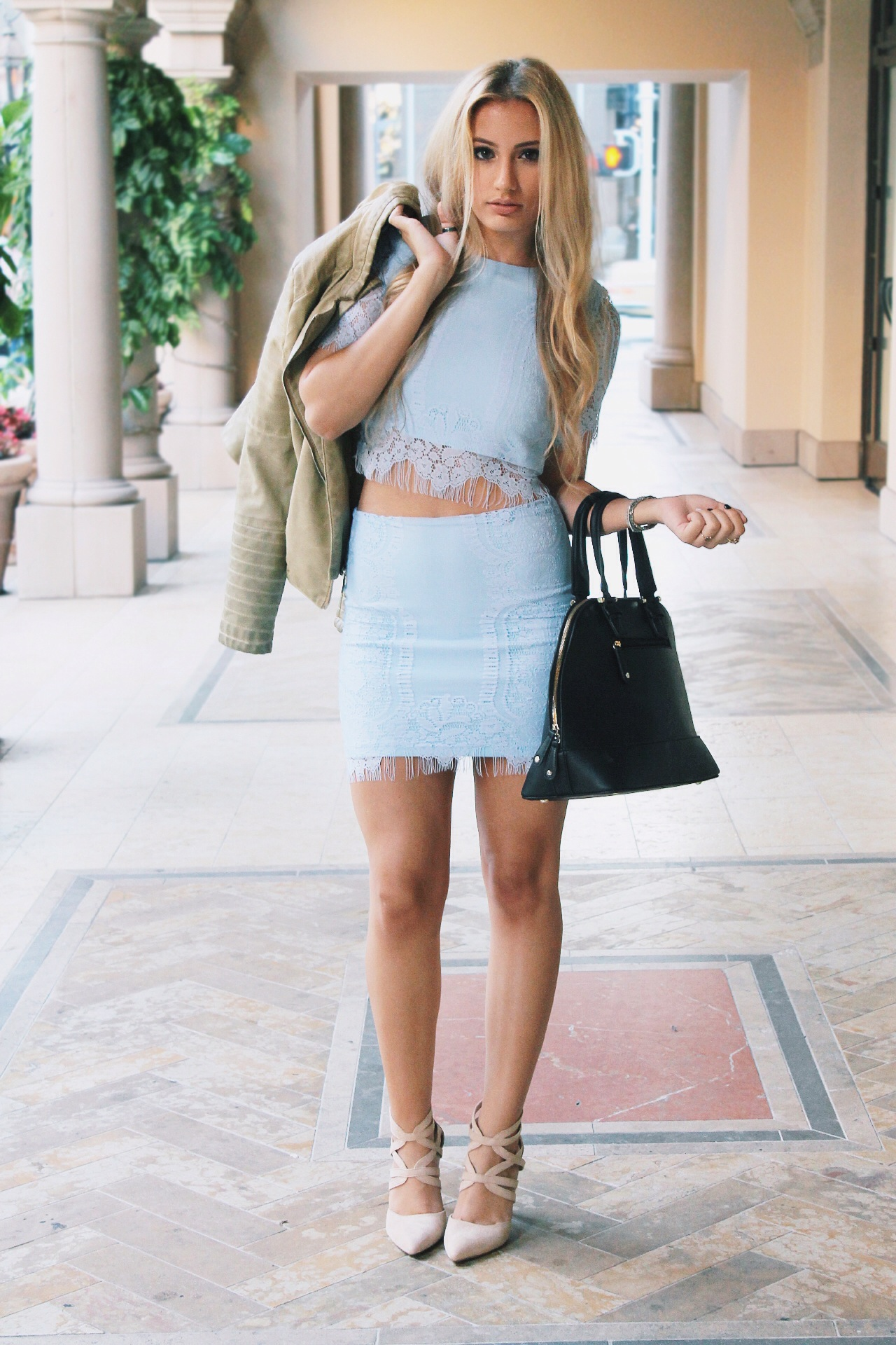 Nude Heels Outfit